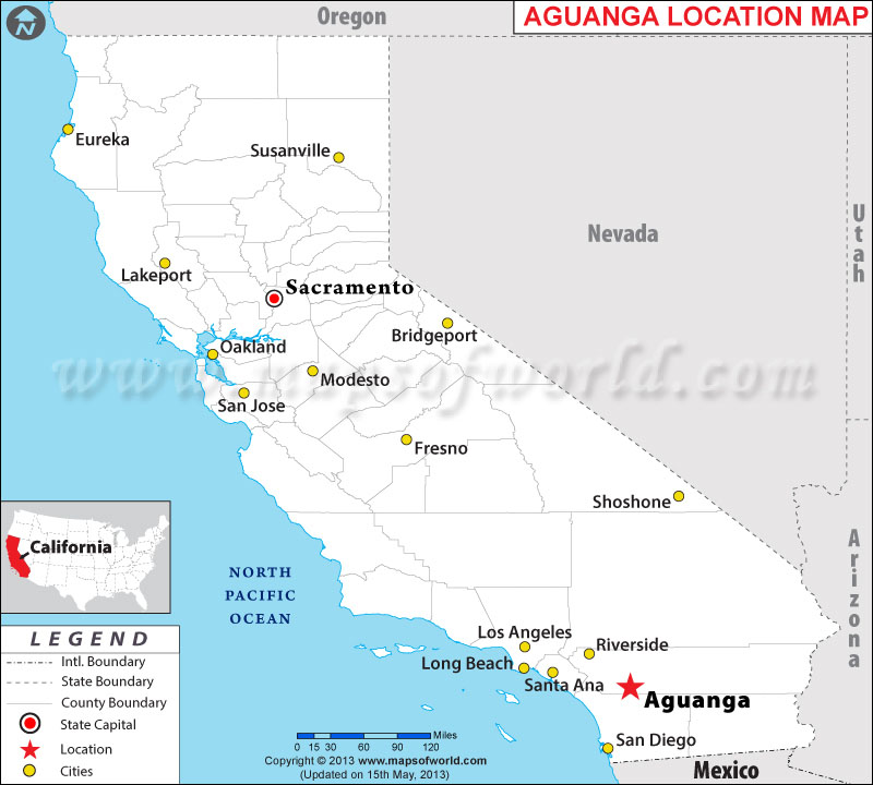 Where Is Aguanga Located In California Usa