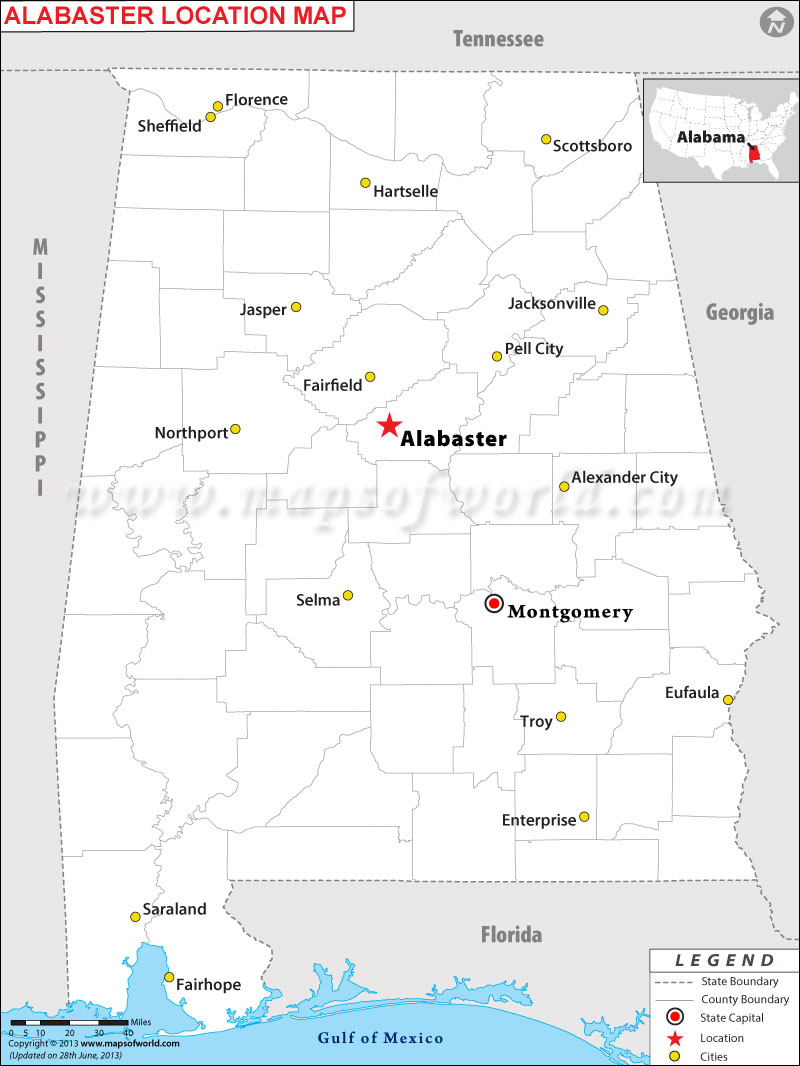 Where is Alabaster, Alabama