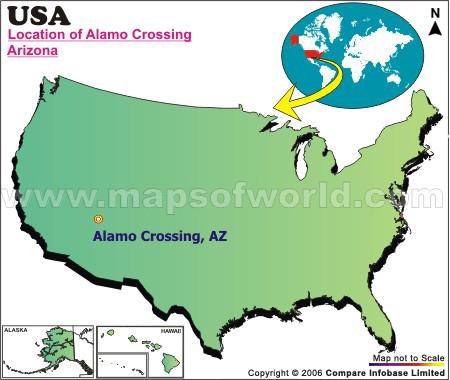 Where is Alamo Crossing, Arizona