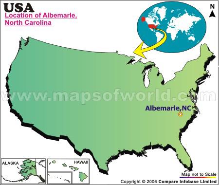 Where is Albemarle , North Carolina