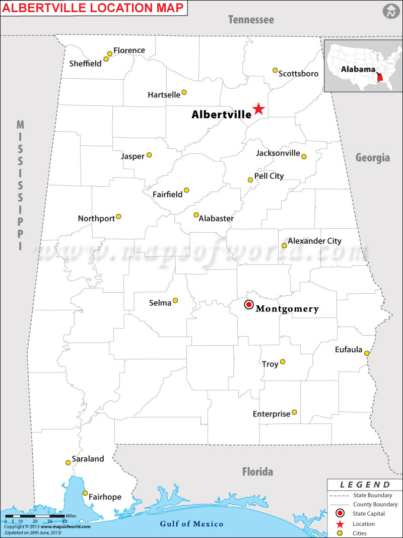 Where is Albertville, Alabama