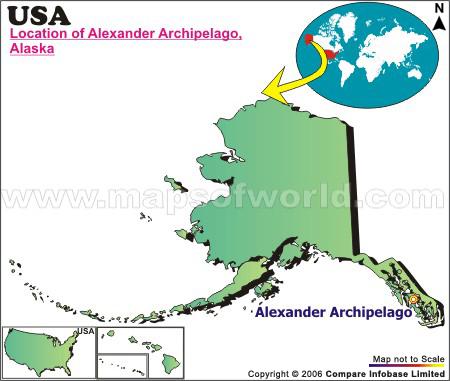 Where is Alexander Arch , Alaska