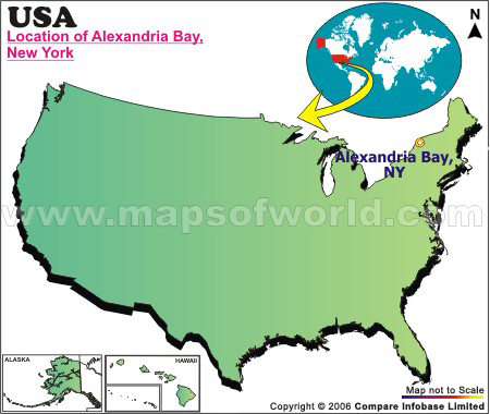 Where is Alexandria Bay, New York