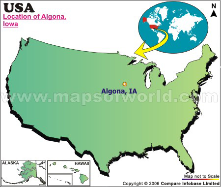 Where is Algona, Iowa