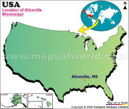 Where is Aliceville , Mississippi