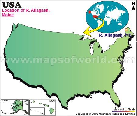 Where is Allagash , Maine