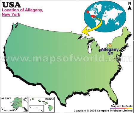 Where is Allegany , New York