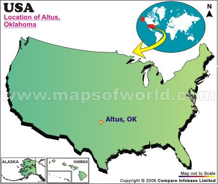 Where is Altus , Oklahoma