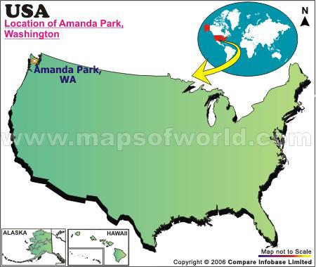 Where is Amanda Park, Washington