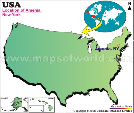 Where is Amenia , New York