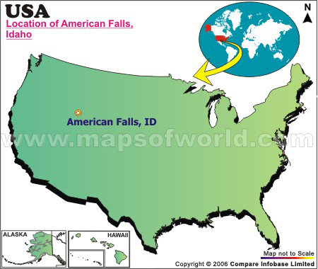 Where is American Falls, Idaho