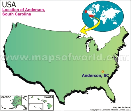 Where is Anderson , South Carolina