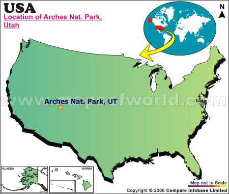 Where is Arches National Park, Utah