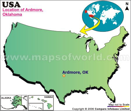 Where is Ardmore , Oklahoma