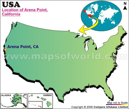 Where is Arena Point, California