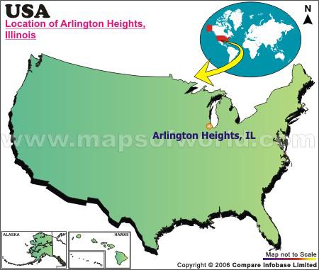 Where is Arlington Heights, Illinois