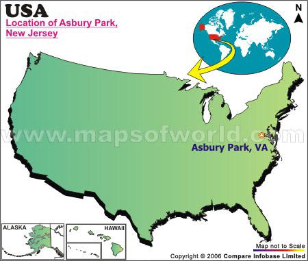 Where is Asbury Park, New Jersey