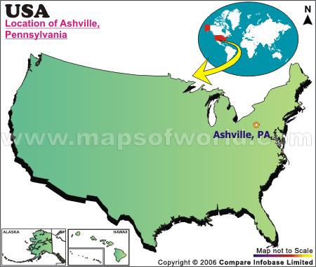 Where is Ashville , Pennsylvania