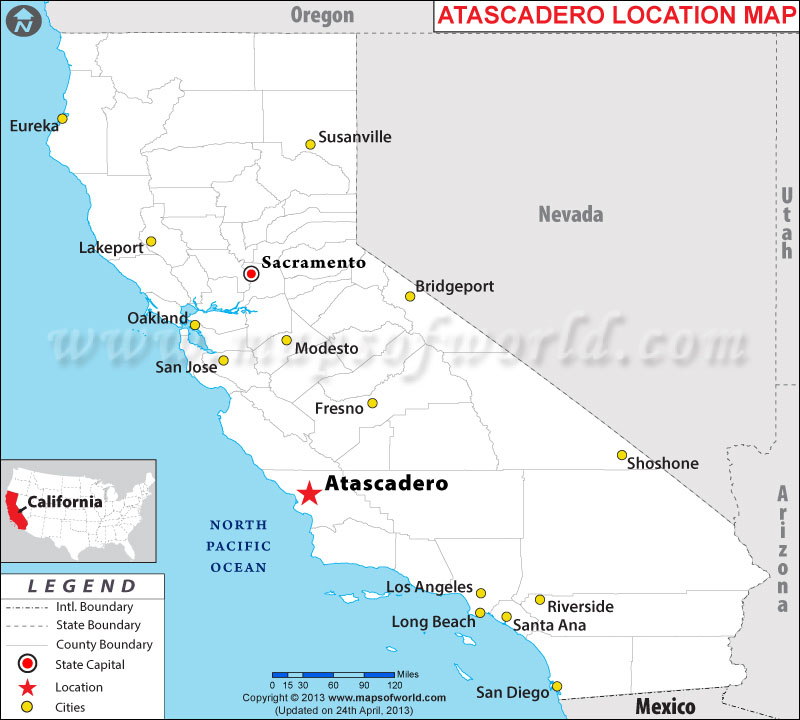 Where is Atascadero, California