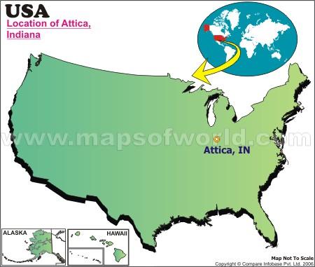 Where is Attica , Indiana