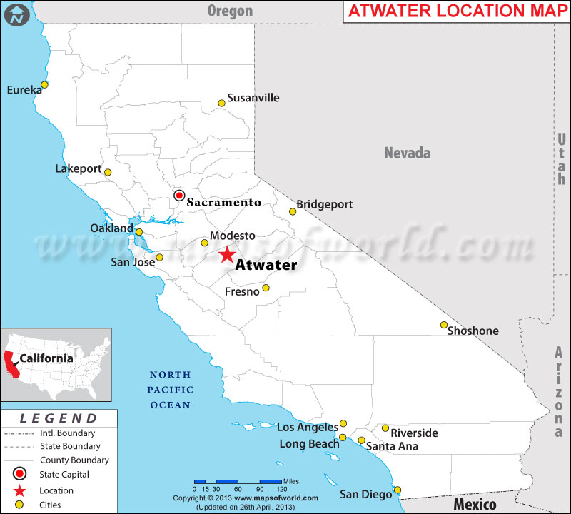 Where is Atwater, California