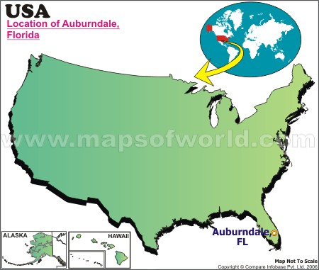 Where is Auburndale, Florida