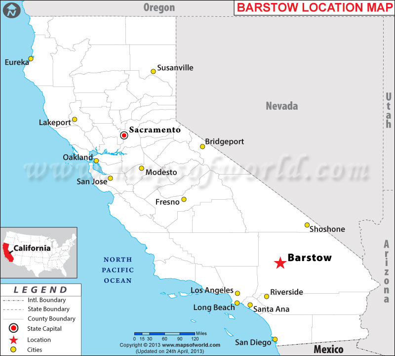 Where is Barstow, California