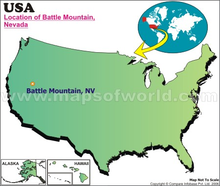 Where is Battle Mountain, Nevada