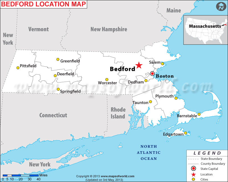 Where is Bedford, Massachusetts