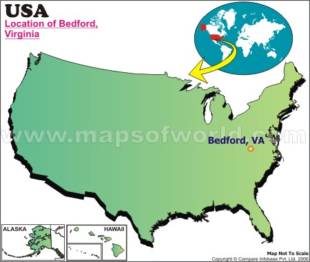 Where is Bedford , Virginia