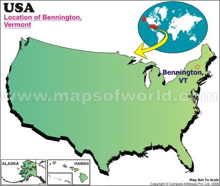Where is Bennington , Vermont