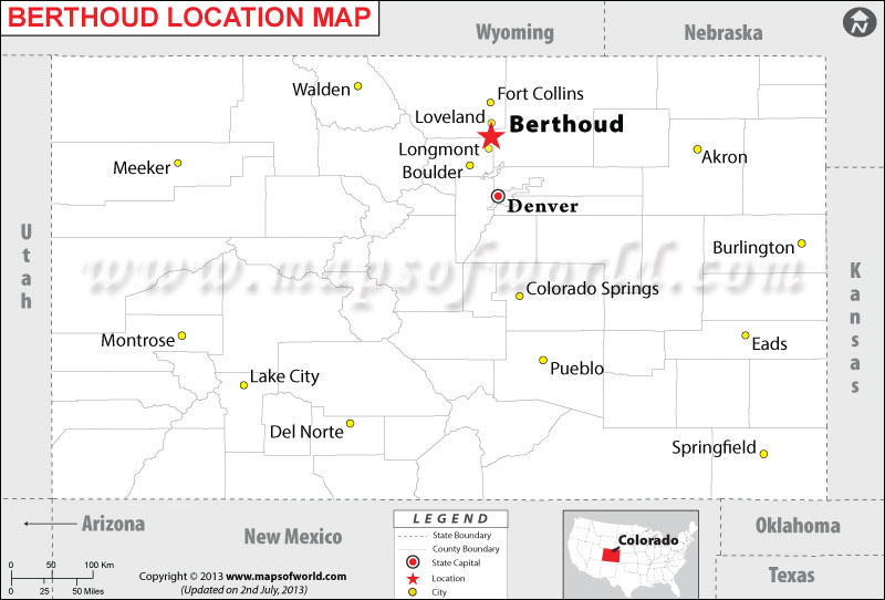 Where is Berthoud located in Colorado