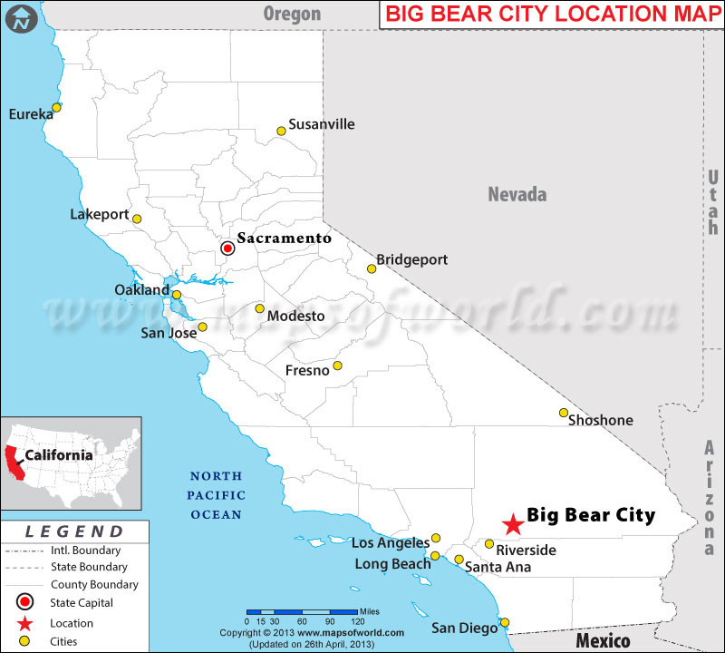Where is Big Bear City, California