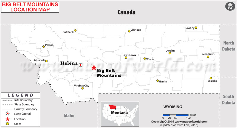 Big Belt Mountains, Montana