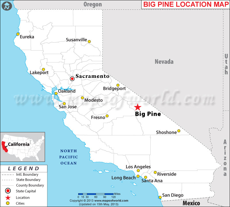 Where is Big Pine located in California