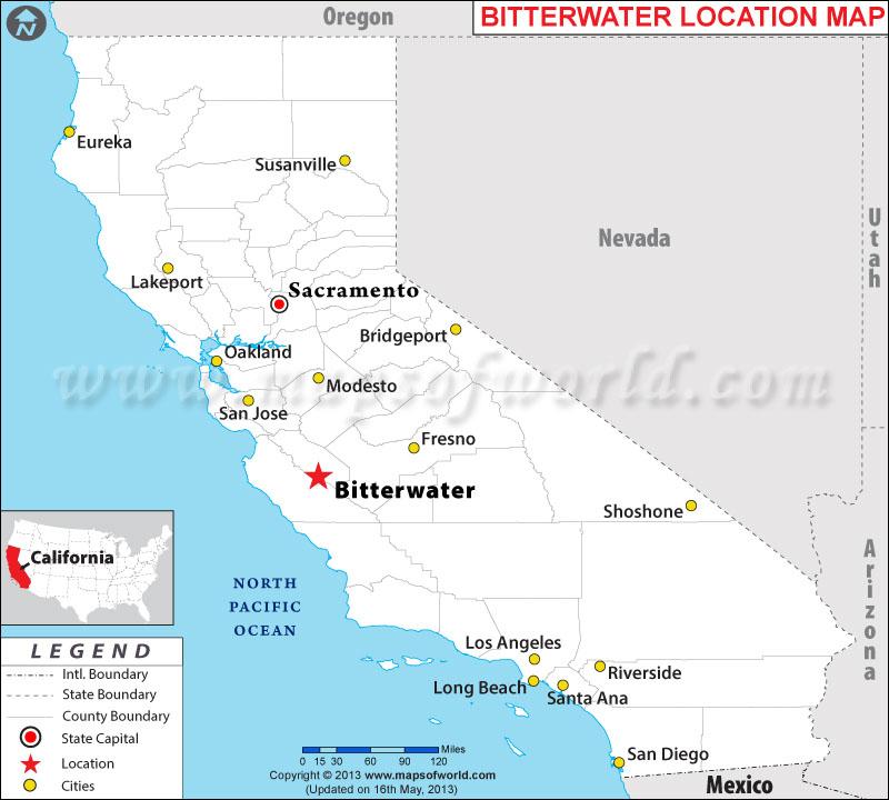 Where is Bitterwater located in California