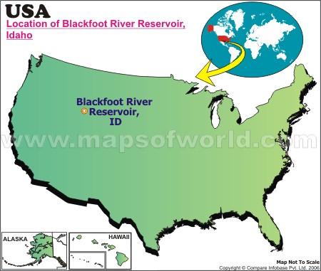 Where is Blackfoot River, Idaho