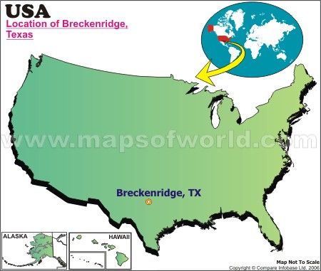 Where is Breckenridge , Texas