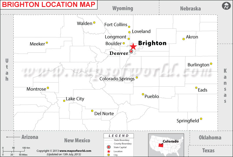 Where is Brighton, Colorado