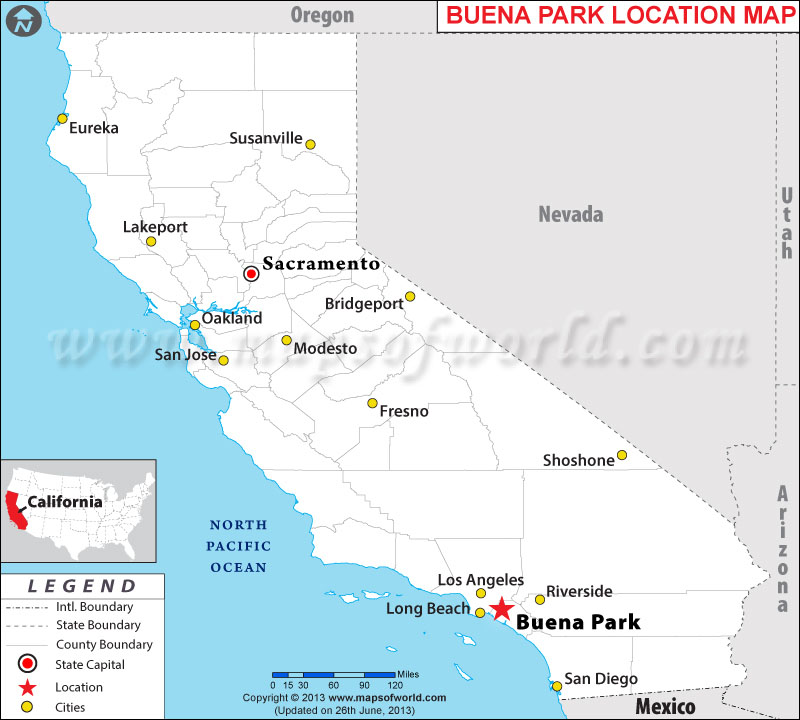 Where is Buena Park, California