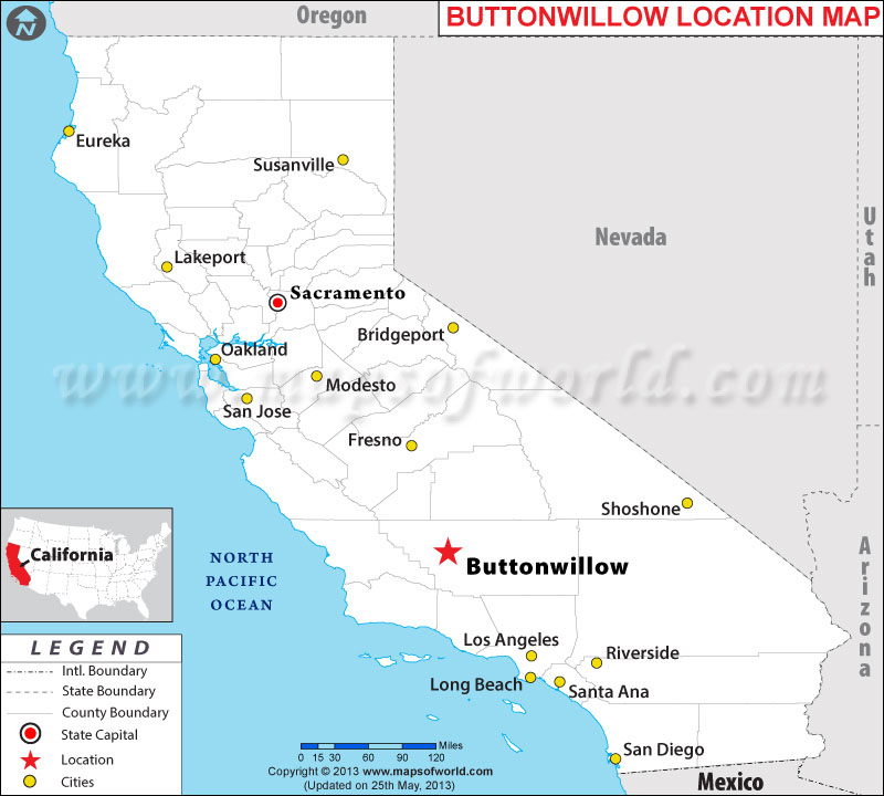Where is Buttonwillow located in California