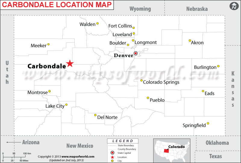 Where is Carbondale located in Colorado