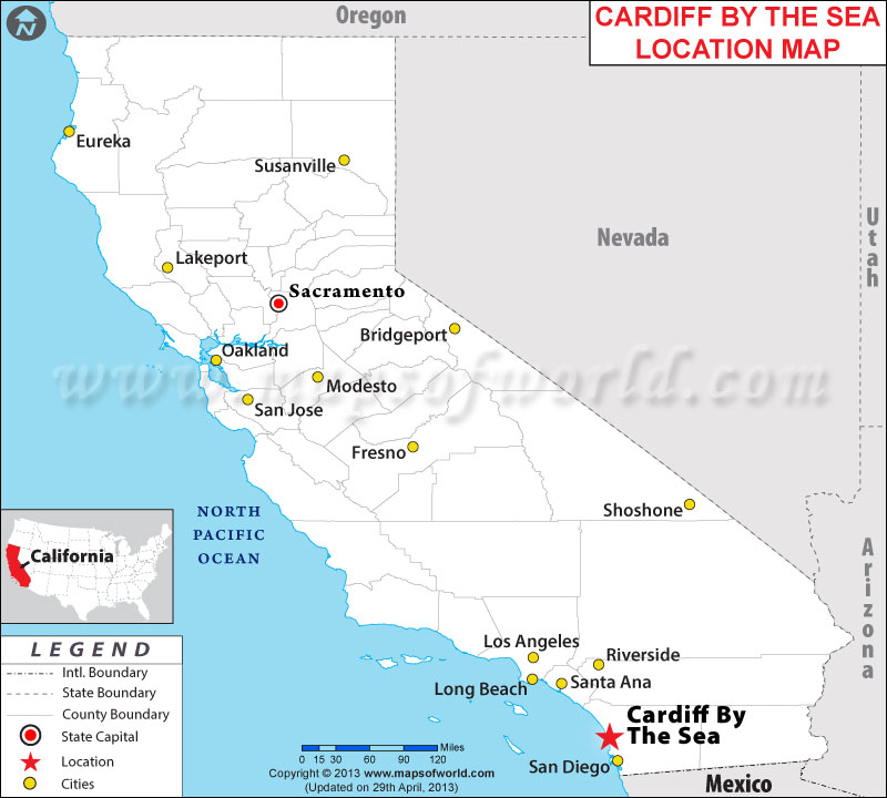 Where is Cardiff By The Sea, California