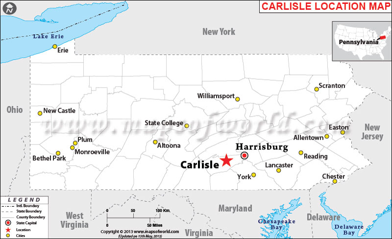 Where Is Carlisle Pennsylvania