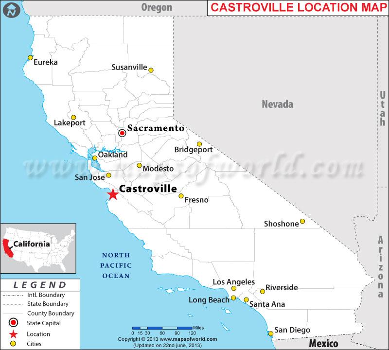 Where is Castroville, California