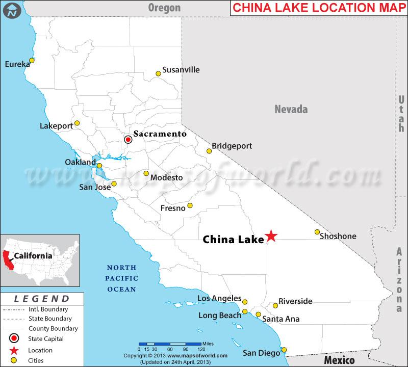 Where is China Lake, California