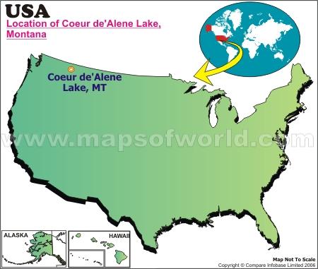 Location Map of Coeur de