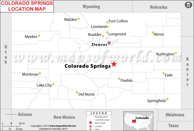 Where is Colorado Springs, Colorado
