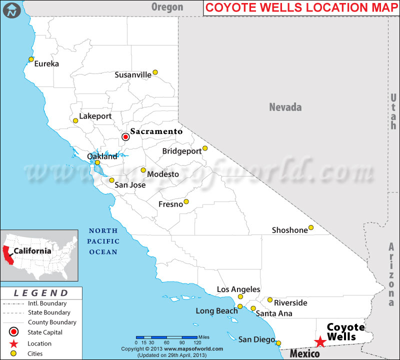 Where is Coyote Wells, California
