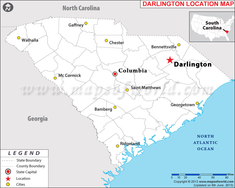 is Darlington South Carolina